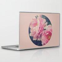 peonies Laptop & iPad Skins featuring Peonies  by Kameron Elisabeth