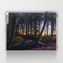 Wooded Tofino Laptop & iPad Skin