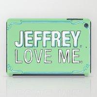 lebowski iPad Cases featuring BIG LEBOWSKI- Maude Lebowski - Jeffrey. Love me. by Michelle Eatough