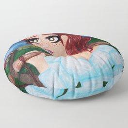 Milk Maiden Floor Pillow
