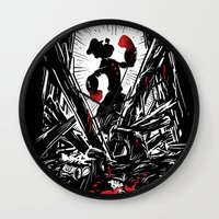 popeye Wall Clocks featuring Eat Your Spinach! by Don Lim