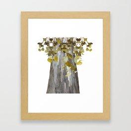 Eucalyptus Tree Framed Art Print