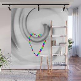 Hook heart Wall Mural