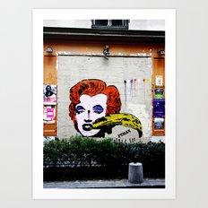 France 2 Art Print