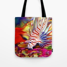 Lionfish in the Daytime Tote Bag