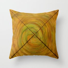 Right On Target, A Little Off Course Throw Pillow