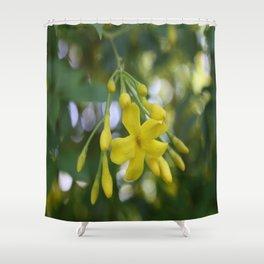 Close Up Of Carolina Jasmine Shower Curtain