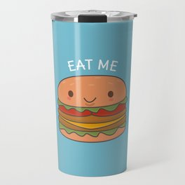 Kawaii Cute Burger Travel Mug
