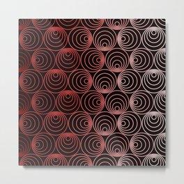 Op Art 107 Metal Print