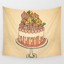 Cake Town Wall Tapestry