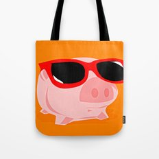 Cool Pig Tote Bag