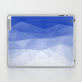Imperial Lapis Lazuli - Triangles Minimalism Geometry Laptop & iPad Skin
