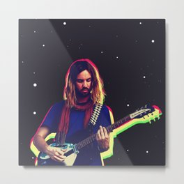 Kevin Parker from Tame Impala Metal Print