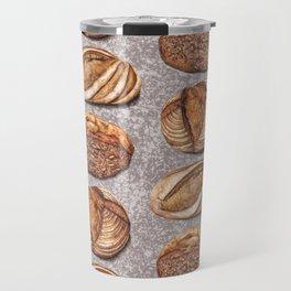 Freshly Baked Bread - Bread Lovers Artwork  Travel Mug