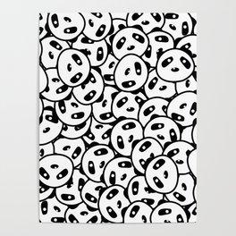 Pandamonium (Patterns Please) Poster
