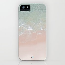Surf yoga iPhone Case