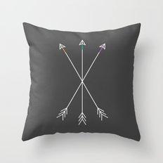 Killers (Gray) Throw Pillow