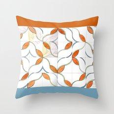 Modern Tiles Throw Pillow