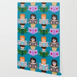 Book Girls Wallpaper