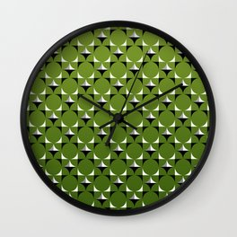 Mod Kelly Green Wall Clock