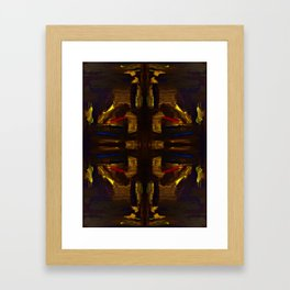 golden signs Framed Art Print
