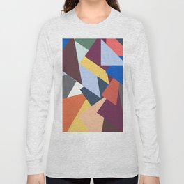Abstract No 451 By Chad Paschke Long Sleeve T-shirt