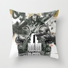 The end is death Throw Pillow