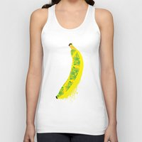 banana Tank Tops featuring Banana by SaraWired