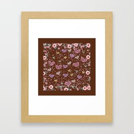 Flower Garden 3 Framed Art Print