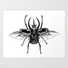 Scarab one Art Print