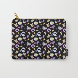 Star vs the Forces of Evil Pattern ( black ) Carry-All Pouch