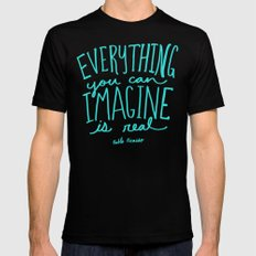 Picasso: Imagine Black X-LARGE Mens Fitted Tee