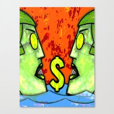 LOAN SHARKS Canvas Print