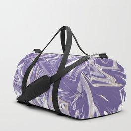Marble Ultra Violet Duffle Bag
