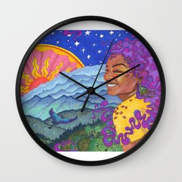Day to Night Wall Clock