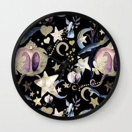 Fairy Rides Wall Clock