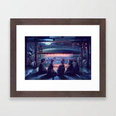 Night Guest  Framed Art Print
