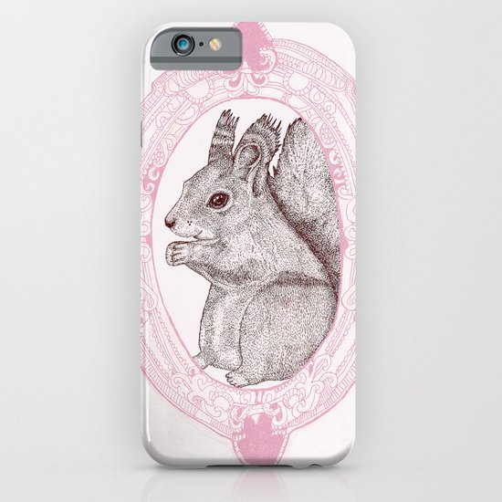 Cameo Squirrel iPhone & iPod Case