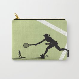 The tennis player Carry-All Pouch
