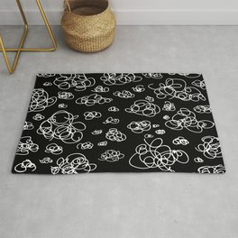 A Squiggle Sky Inverse Rug
