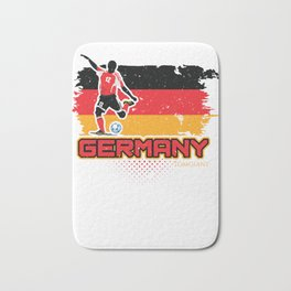 Football Worldcup Germany German Soccer Team Sports Footballer Rugby Gift Bath Mat