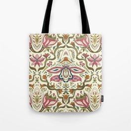 Orchid Art Nouveau Tote Bag