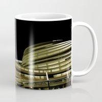 battlestar galactica Mugs featuring Galactica BJ by vonschnitzenberg