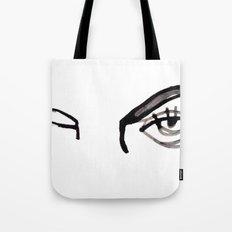 inked eyes Tote Bag