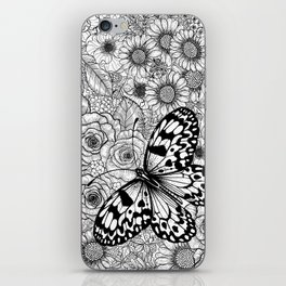 The paper kite garden iPhone Skin
