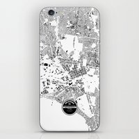 melbourne iPhone & iPod Skins featuring MELBOURNE by Maps Factory
