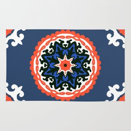 Bold and bright beauty of suzani patterns ver.6 Rug