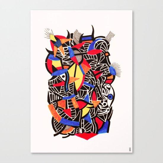 - romantic gate - Canvas Print