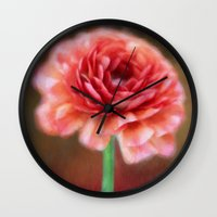 persian Wall Clocks featuring Persian Buttercup by ThePhotoGuyDarren
