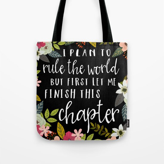 Plan To Rule The World Tote Bag